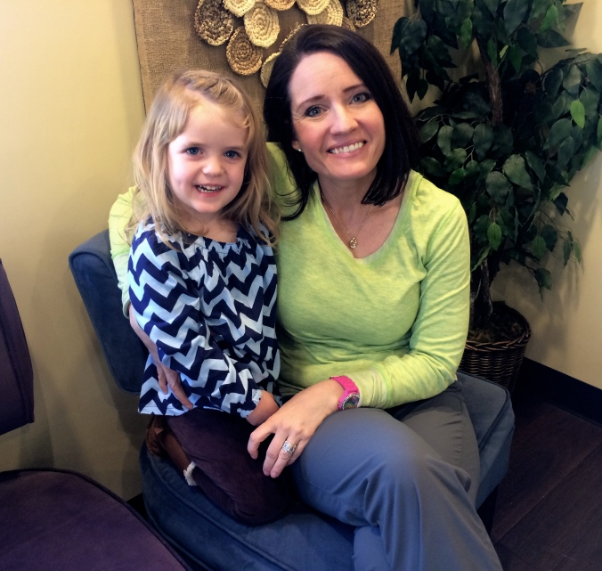 Miss Heather Occupational Therapist Sees Gia once a week for therapy